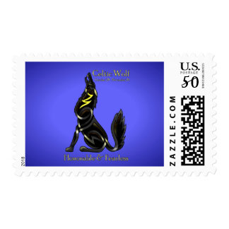 Celtic Wolf Postage