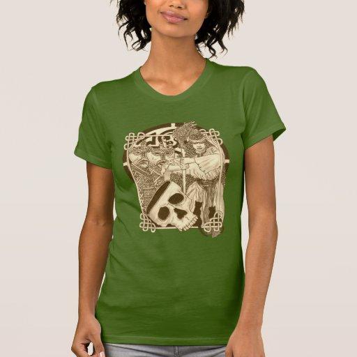 Celtic Woodland Witch Tee Shirt