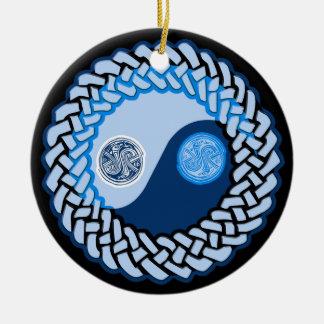 Celtic Yin Yang 2 Ornament