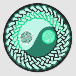 Celtic Yin Yang 3 Stickers