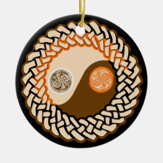 Celtic Yin Yang Ornament