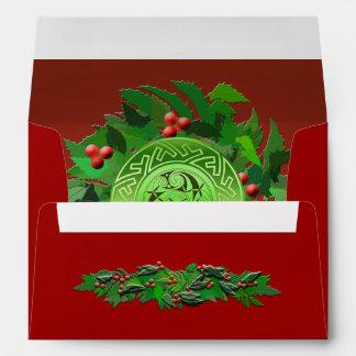 Celtic Yule Envelope