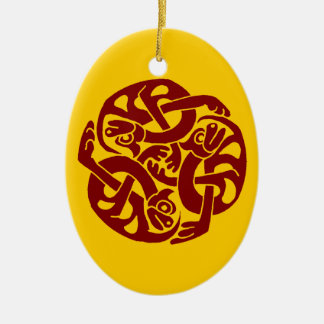Celtic Yule Ornament