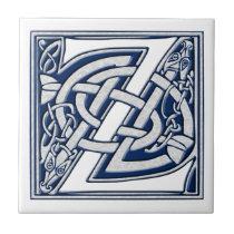 Celtic Z Monogram Tile