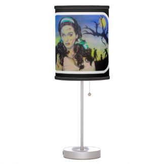 'Celtic Zombie Pride' on a table lamp