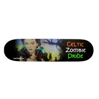 Celtic Zombie Pride Skateboard