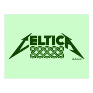 Celtica Postcard