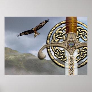Celtica Print