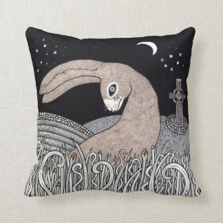 CelticHare Throw Pillow