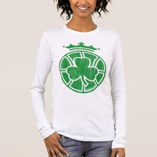 Celtics Crowned (vintage green) Long Sleeve T-Shirt