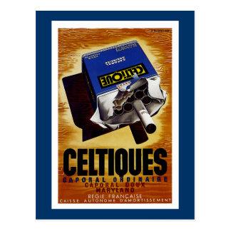 Celtiques Cigarettes Post Cards