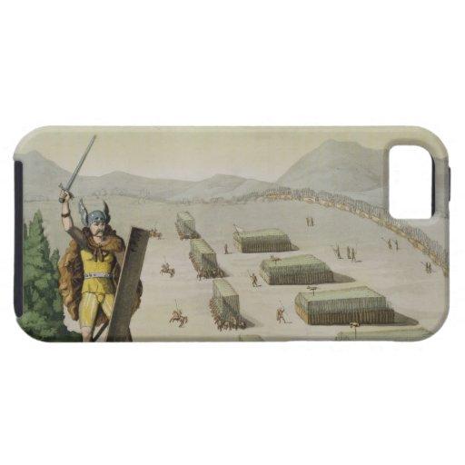 Celts antiguos o Gauls en batalla, c.1800-18 (colo iPhone 5 Case-Mate Carcasas