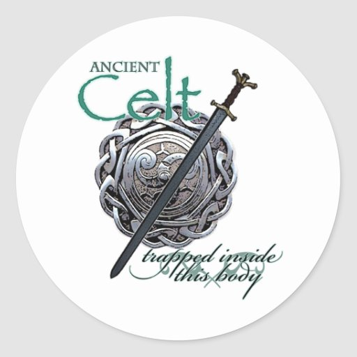 Celts antiguos pegatinas redondas