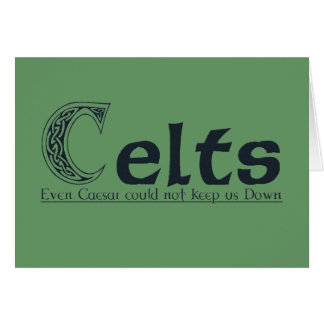 Celts Card