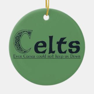 Celts Ceramic Ornament