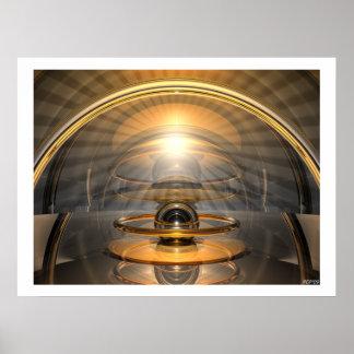 Célula de la energía póster