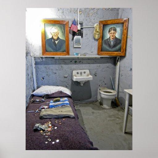 Célula de Paul Eitner - cárcel del estado de Póster