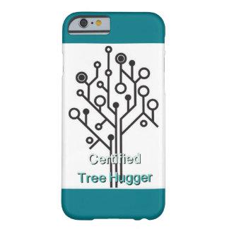 Célula del amor del hugger del árbol funda barely there iPhone 6