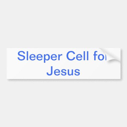 Célula del durmiente para la pegatina para el para pegatina para auto