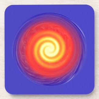 Célula espiral del poder posavasos