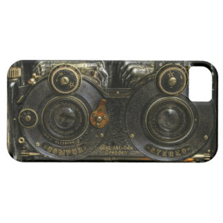 célula punky de la caja de la cámara de la escuela iPhone 5 coberturas