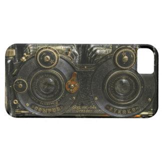 célula punky de la caja de la cámara de la escuela iPhone 5 carcasas