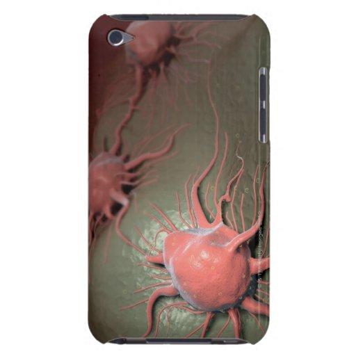 Células cancerosas iPod Case-Mate fundas
