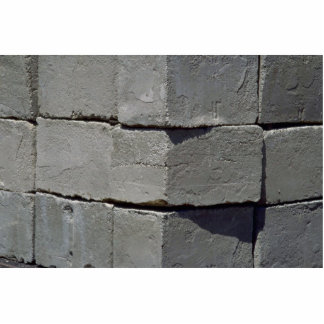 Cement block wall cutout