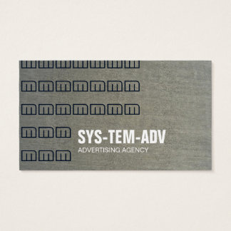 CEMENT CONCRETE CONSTRUCTION CIVIL ENGINEERING BUSINESS CARD