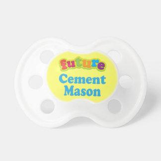 Cement Mason (Future) Pacifier Gift BooginHead Pacifier