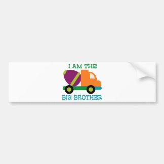 Cement Mixer Big Brother Bumper Sticker
