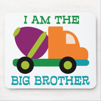 Cement Mixer Big Brother Mouse Pad