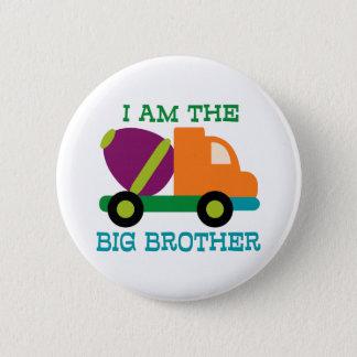 Cement Mixer Big Brother Pinback Button