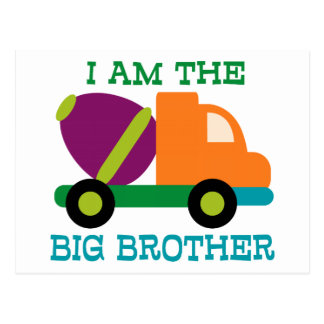Cement Mixer Big Brother Postcard