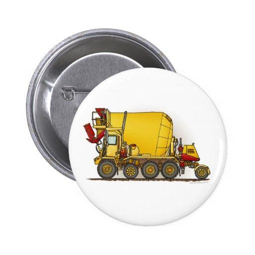 Cement Mixer Construction Button Pin