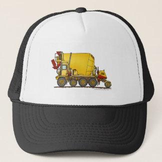 Cement Mixer Front Discharge Truck Construction Ha Trucker Hat