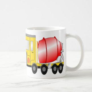 Cement Mixer Classic White Coffee Mug
