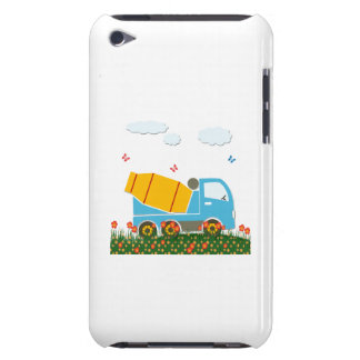 Cement mixer truck barely there iPod cover