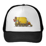 Cement Mixer Truck Hat