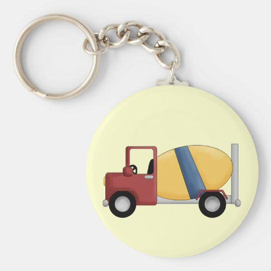 Cement Mixer Tshirts and Gifts Keychain