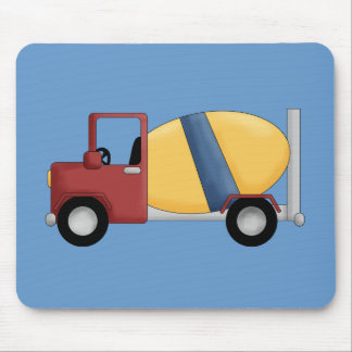 Cement Mixer Tshirts and Gifts Mouse Pad