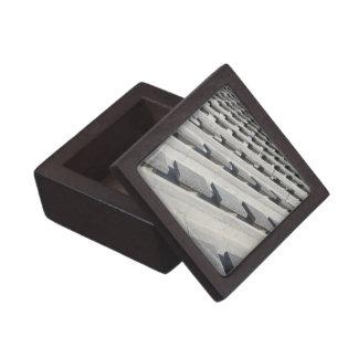 Cement seats keepsake box