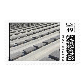 Cement seats postage