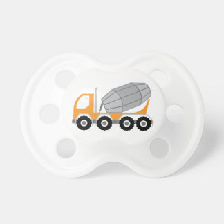 Cement Truck Baby Pacifier