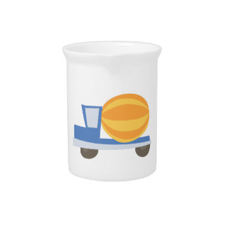 Cement Truck Beverage Pitchers
