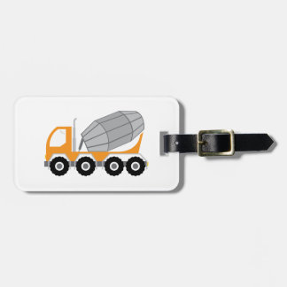 Cement Truck Tags For Bags
