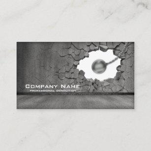 Demolition business cards templates zazzle cement wall demolition works business card colourmoves