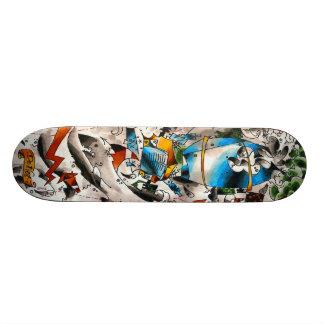 cementboard_oldschool skateboard deck