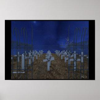 Cementerio 3D Poster