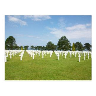 Cementerio americano en Francia Postales